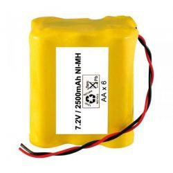 Pack Baterías 7.2v 2500mah (AA X6)
