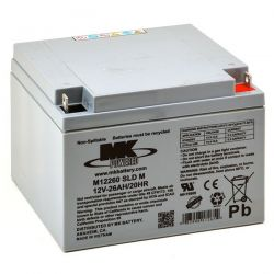 Batería AGM Marca MK mod. 12V 26A