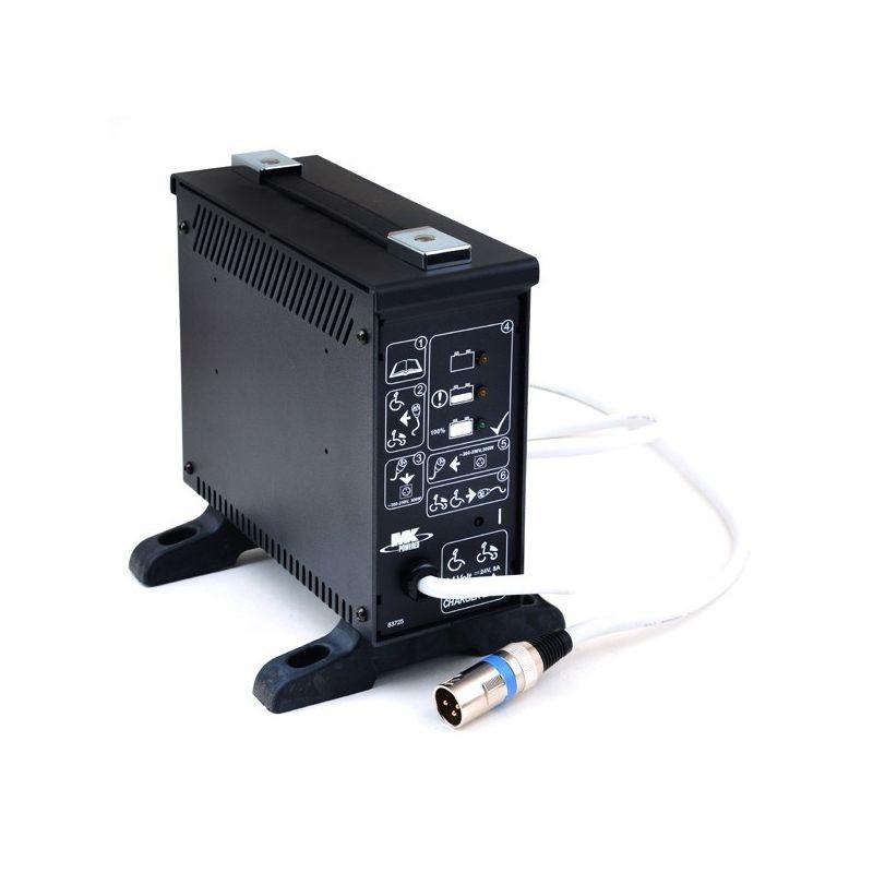 Cargador baterías silla de Ruedas 24V 8A