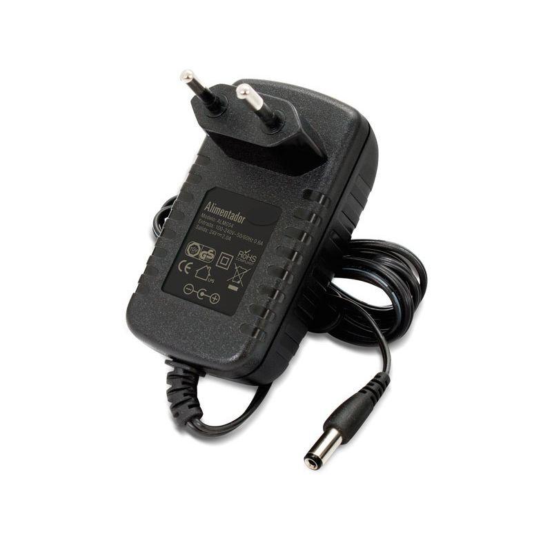 Adaptateur d'alimentation de 24 volts 2 Ampères.