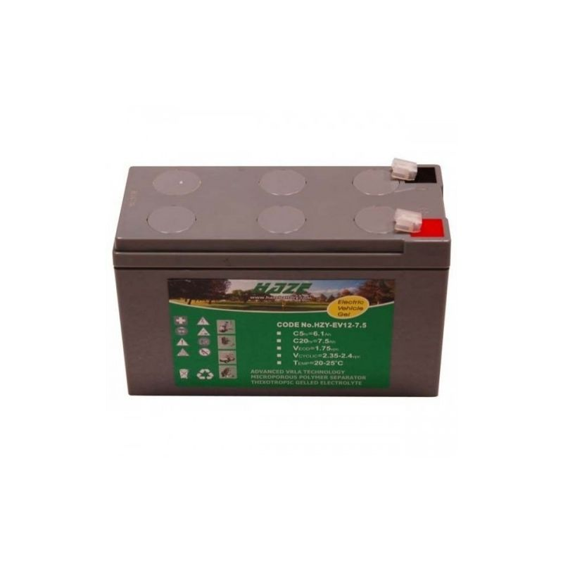 Batterie HAZE GEL 12V 7.5A