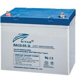 Batería Gel Ritar 12V 55A