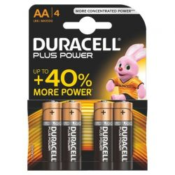 Les piles Duracell Plus Power AA LR06