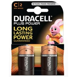 Les piles Duracell Plus Power LR14