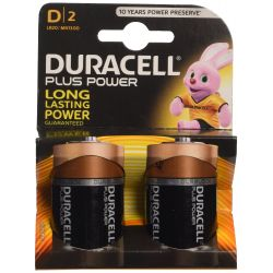 Les piles Duracell Plus Power LR20