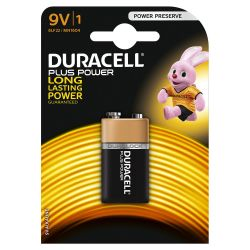 Duracell piles Plus Power 9V