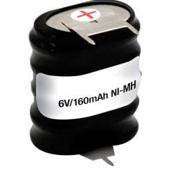 Batería recargable 6V 150mAh Ni-Mh