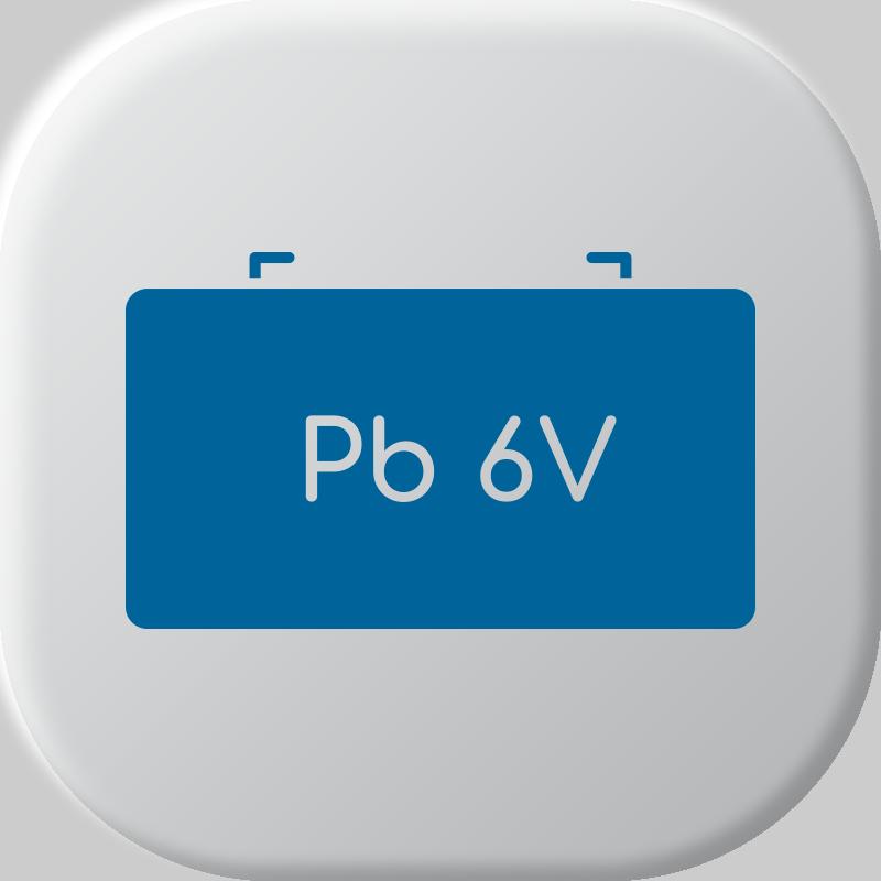 6V Batteries au plomb