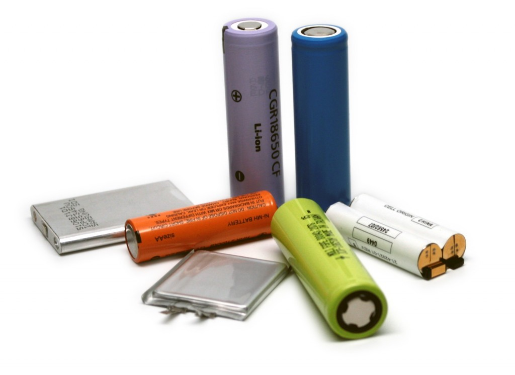 Batteries au Lithium rechargeable