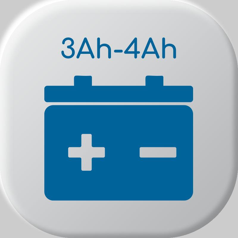 De 3Ah pour 4Ah